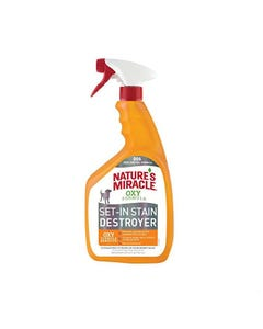 Nature's Miracle Oxy Stain & Odor Remover for Dogs - Orange - Old Packaging