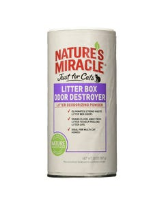 Nature's Miracle Just for Cats Litter Box Odor Destroyer Powder