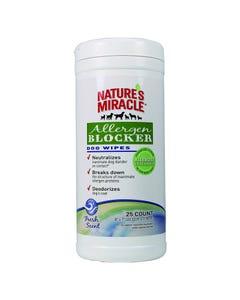 Nature's Miracle Allergen Blocker - Dog Wipes