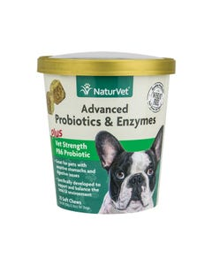 NaturVet Advanced Probiotics & Enzymes Soft Chews