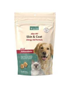 NaturVet Aller-911 Skin & Coat Allergy Aid Soft Chews