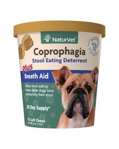 NaturVet Coprophagia Stool Eating Deterrent Soft Chews