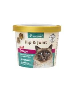 NaturVet Hip & Joint Cat Soft Chews