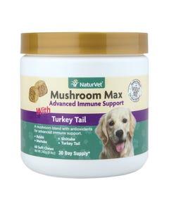 NaturVet Mushroom Max Advanced Immune Support Soft Chews