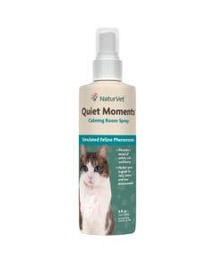 NaturVet Quiet Moments Cat Calming Room Spray 8oz