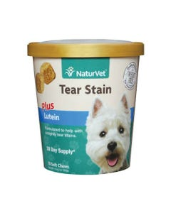 NaturVet Tear Stain Plus Lutein Soft Chew Cup