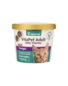 NaturVet VitaPet Adult Cat Daily Vitamins Soft Chews