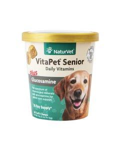 NaturVet VitaPet Senior Daily Vitamins Soft Chews