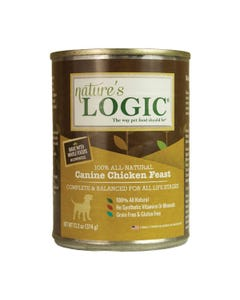 Nature's Logic Canine Wet Food - Chicken Feast