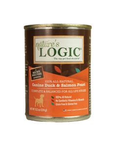 Nature's Logic Canine Wet Food - Duck & Salmon Feast