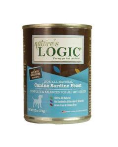 Nature's Logic Canine Wet Food - Sardine Feast