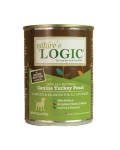 Nature's Logic Canine Wet Food - Turkey Feast