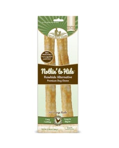 """Fieldcrest Farms Nothin' to Hide 10"""" Large Rolls - Wholesome Chicken Flavor"""