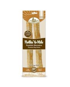 "Fieldcrest Farms Nothin' to Hide 10"" Large Rolls - Delicious Peanut Butter Flavor"