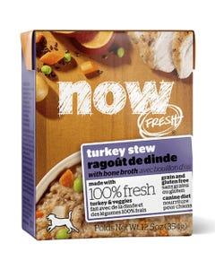 Now Fresh Grain Free Turkey Stew and Bone Broth