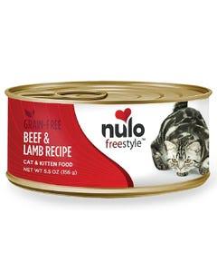 Nulo Freestyle Cat & Kitten Wet Food - Beef & Lamb Recipe