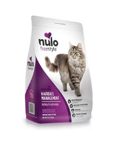Nulo Freestyle Hairball Management Adult Cat Food - Turkey & Cod Recipe
