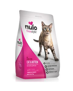 Nulo Freestyle High-Meat Kibble for Cat & Kittens - Chicken & Cod Recipe