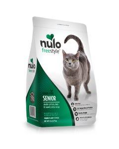 Nulo Freestyle High-Meat Kibble Senior Cat Food - Alaska Pollock, Duck & Sweet Potato Recipe