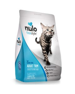 Nulo Freestyle High-Meat Kibble Adult Trim Cat Food - Salmon & Lentils Recipe