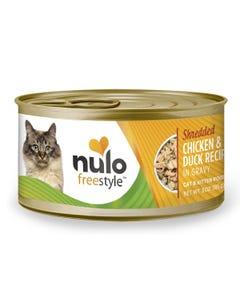 Nulo Freestyle Shredded Cat & Kitten Wet Food - Chicken & Duck Recipe