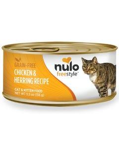 Nulo Freestyle Cat & Kitten Wet Food - Chicken & Herring Recipe