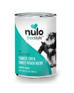 Nulo Freestyle Grain-Free Wet Food for Puppies - Turkey, Cod & Sweet Potato Recipe