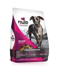 Nulo Freestyle Freeze-Dried Raw Beef with Apples Dog Food