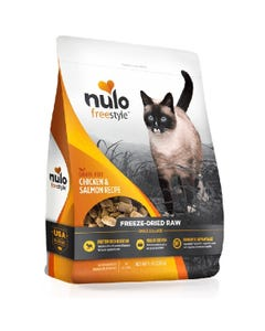 Nulo Freestyle Freeze-Dried Raw Chicken & Salmon Cat Food