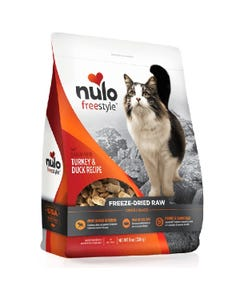 Nulo Freestyle Freeze-Dried Raw Turkey & Duck Cat Food