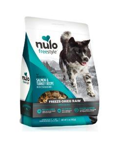 Nulo Freestyle Freeze-Dried Raw Salmon & Turkey with Strawberries Dog Food