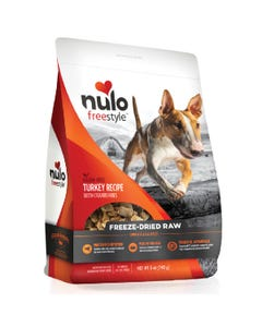 Nulo Freestyle Freeze-Dried Raw Turkey with Cranberries Dog Food