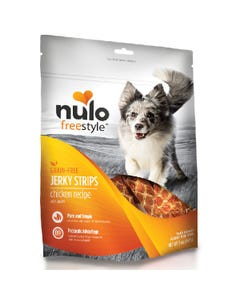 Nulo Freestyle Jerky Strips Dog Treats - Chicken with Apples Recipe