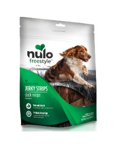 Nulo Freestyle Jerky Strips Dog Treats - Duck with Plum Recipe