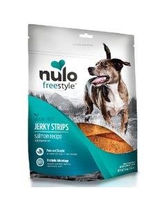 Nulo Freestyle Jerky Strips Dog Treats - Salmon with Strawberries Recipe