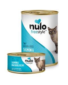 Nulo Freestyle Cat & Kitten Wet Food - Salmon & Mackerel Recipe