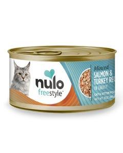 Nulo Freestyle Minced Cat & Kitten Wet Food - Salmon & Turkey Recipe