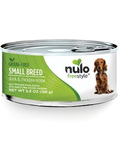 Nulo Freestyle Grain-Free Wet Food for Small Dog Breeds - Duck & Chickpeas Recipe