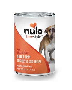 Nulo Freestyle Trim Grain-Free Wet Food for Adult Dog Breeds - Turkey & Cod Recipe