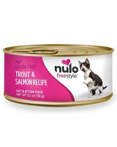 Nulo Freestyle Cat & Kitten Wet Food - Trout & Salmon Recipe
