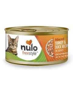 Nulo Freestyle Minced Cat & Kitten Wet Food - Turkey & Duck Recipe