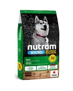 Nutram Sound Balanced Wellness S9 Adult Lamb Dog Food - Lamb Meal, Lamb and Pearled Barley Recipe