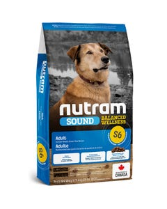 Nutram Sound Balanced Wellness S6 - Adult Dog Food - Chicken Meal and Brown Rice Recipe