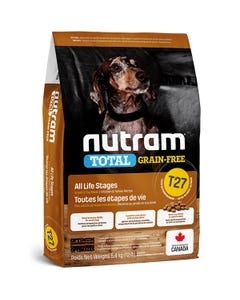 Nutram Total Grain-Free Chicken & Turkey Recipe for Small and Toy Breed Dog Food