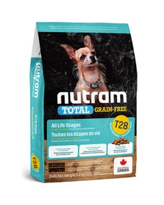 Nutram Total Grain-Free T28 - Trout and Salmon Meal Recipe for Small and Toy Breed Dog Food