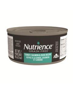 Nutrience Grain Free SubZero Canned Cat Food - Turkey, Salmon & Duck Recipe
