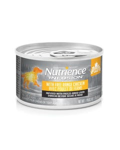 Nutrience Infusion Pate with Free Range Chicken Dog Food