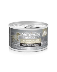 Nutrience Infusion Pate with Brome Lake Duck Dog Food