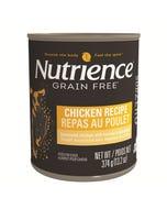 Nutrience Grain Free SubZero Canned Dog Food - Chicken Recipe