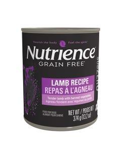 Nutrience Grain Free SubZero Canned Dog Food - Lamb Recipe